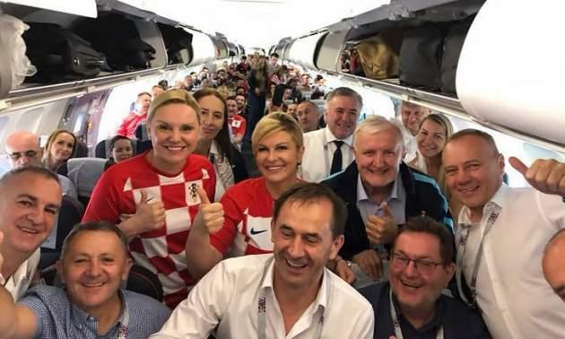 Президент Хорватии отказала Путину на футбольном матче