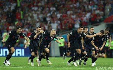 Хорватские футболисты посвятили Украине победу над Россией