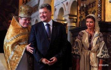 Порошенко «случайно» присвоил 15 млн. долларов, собранных для создания в Украине единой поместной православной церкви