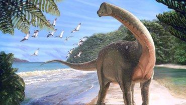 Ученые нашли самого первого гигантского динозавра