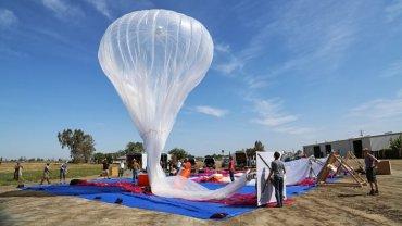 Google запустит воздушные шары, чтобы обеспечить интернет-покрытие всюду