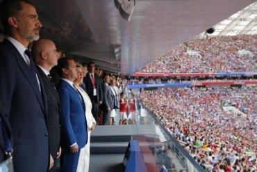 Путин объяснил королю Испании, почему сборная России выиграла
