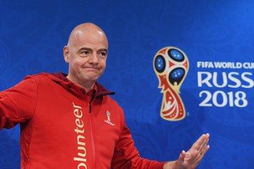 Глава ФИФА назвал ЧМ-2018 лучшим в истории
