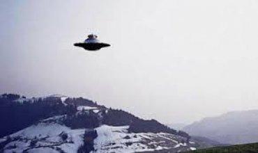 Над Калифорнией зависло крупное НЛО