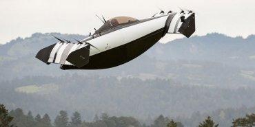 В США сделали летающую машину с вертикальным взлетом
