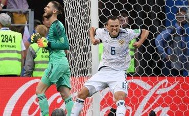Россия побеждает с уродливым футболом