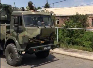Российские военные вторглись в Армению