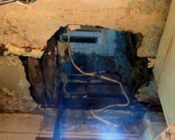 В России пенсионер пошел в туалет и провалился к соседям снизу