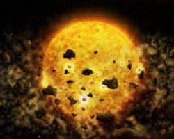 Звезда в 450 световых годах от Земли поглощает свои планеты