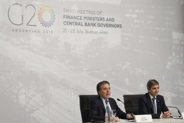 Министры финансов G20 назвали главные риски для мировой экономики