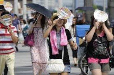 В Японии впервые зафиксировали температуру +41