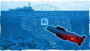 Китай объявил о создании смертоносного флота «сверхбольших» подводных дронов с искусственным интеллектом