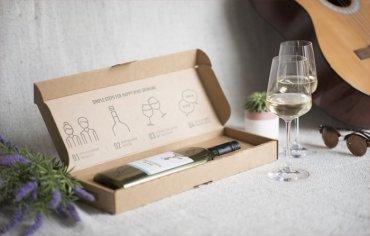 Британская компания выпустила плоские винные бутылки для доставки по почте