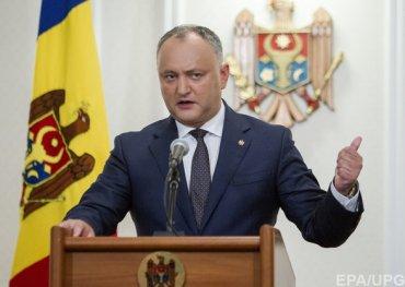 Президент Молдовы против вывода российских войск из Приднестровья