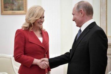 Президент Хорватии очень ждет Путина в гости