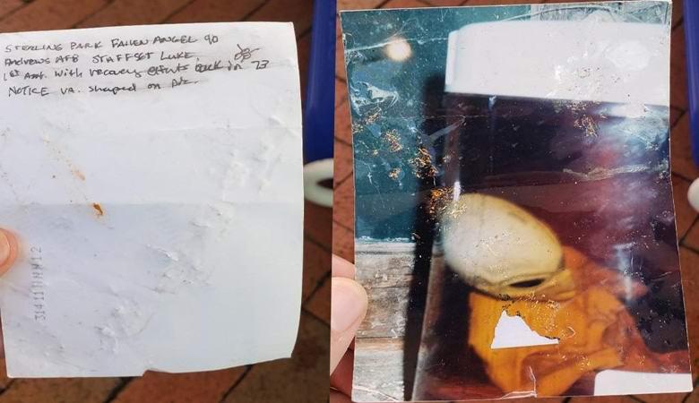 Американец нашел фотографию пришельца 1973 года