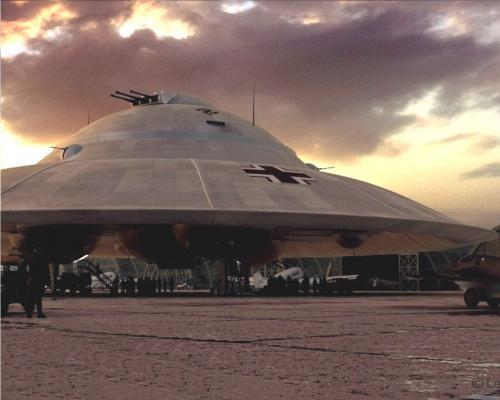 ЦРУ рассекретило документы об НЛО на службе Третьего рейха