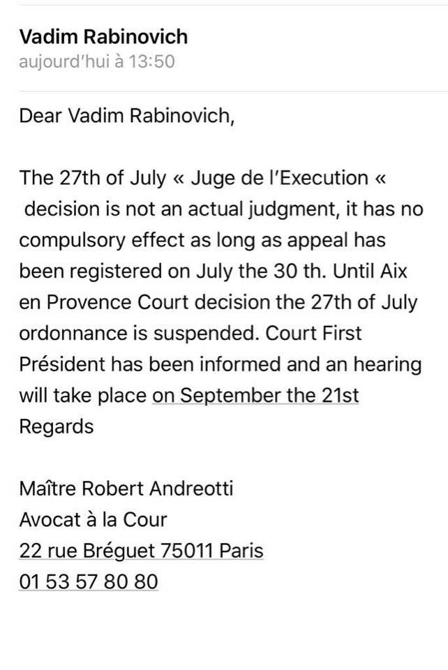 На Рабиновича подали в суд за его борьбу с коррупцией Левочкиных