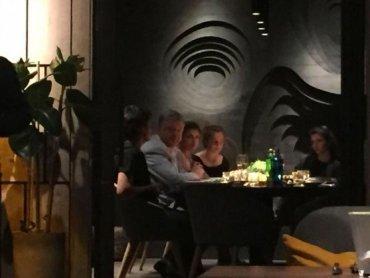 Порошенко с семьей тайно поужинали в киевском ресторане
