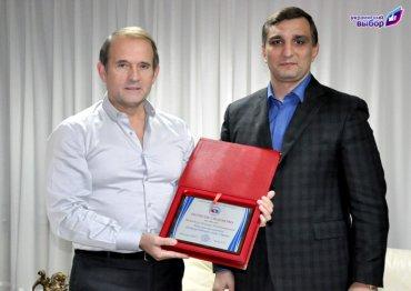 Эльхан Велиев: Благодаря В.Медведчуку украинские самбисты забыли о финансовых проблемах и стремительно увеличили число побед