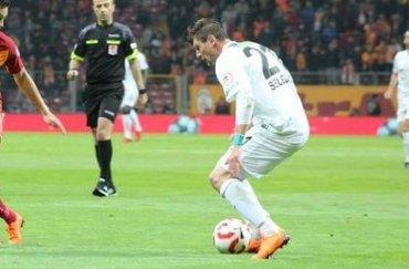 Украинский футболист стал лучшим игроком матча за Суперкубок Турции