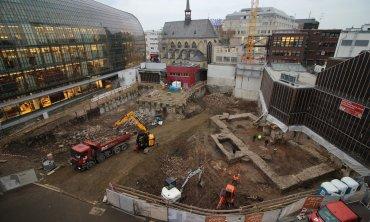 В Кельне откопали старейшую библиотеку Германии
