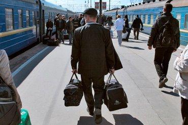 В какие города Украины еще ходят поезда из Москвы