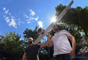 В Украине начали использовать дроны на солнечных батареях