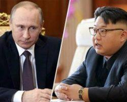 Путин согласился встретиться с Ким Чен Ыном