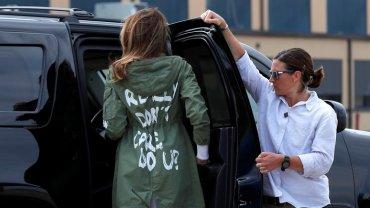 Мелания Трамп воюет с мужем с помощью своих нарядов