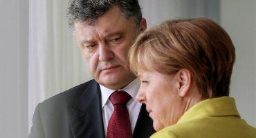 Меркель позвонила Порошенко перед встречей с Путиным