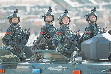 Китайская армия учится наносить удары по американским целям