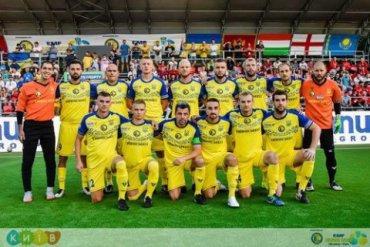 Украина проиграла в четвертьфинале Евро-2018 по мини-футболу