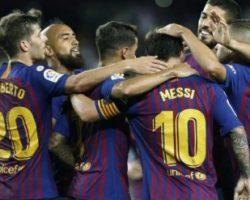 Месси забил 6000-й гол «Барселоны» в чемпионате Испании