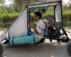 В Египте создали «воздушный» эко-автомобиль