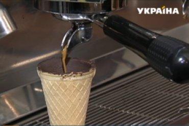 Съедобные стаканчики для кофе разработали в Украине