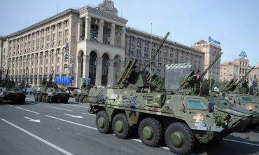 В Киеве рассказали, сколько потратят на военный парад