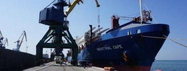 Россияне более недели удерживали судно с комплектующими для запорожской ветряной электростанции
