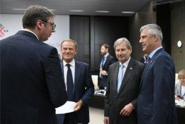 Президенты Сербии и Косово хотят изменить границы между их странами