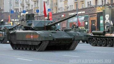 Россиянам не разрешили потрогать «Армату»