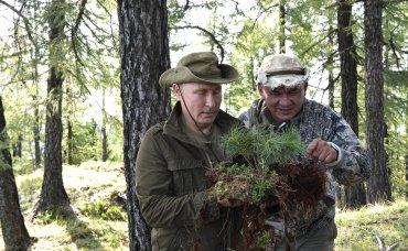 Что Путин и Шойгу делали в сибирской глуши