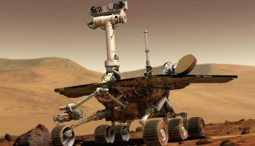 Из-за пылевой бури NASA потеряло марсоход