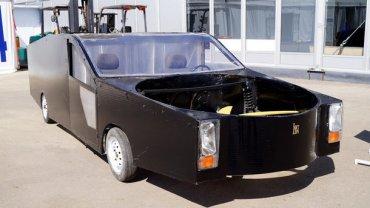 Новая российская разработка: автомобиль-вертолет