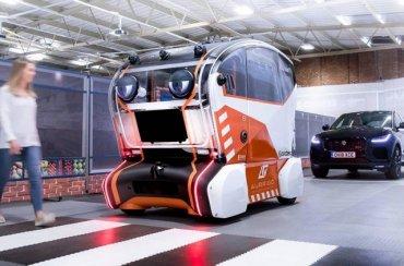 Land Rover построил беспилотник с глазами