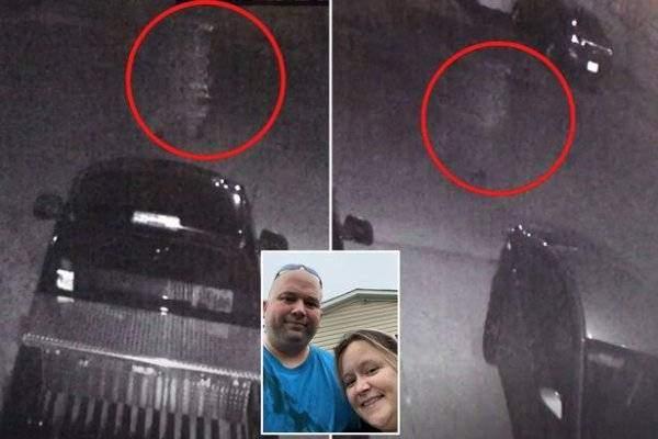 Загадочный призрак Цезарь попал на камеру