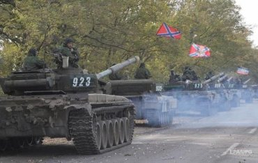 Сепаратисты развернули сотни единиц техники – СЦКК