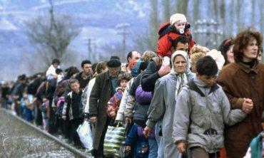 Украина готова принимать беженцев из Крыма