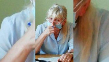 В России пьяная врач уснула во время приема ребенка
