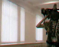 Обнародовано видео работы шамана в стенах СБУ
