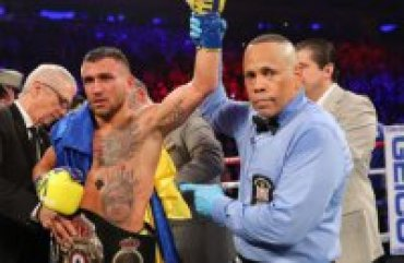 Ломаченко признан лучшим боксером мира по версии The Ring